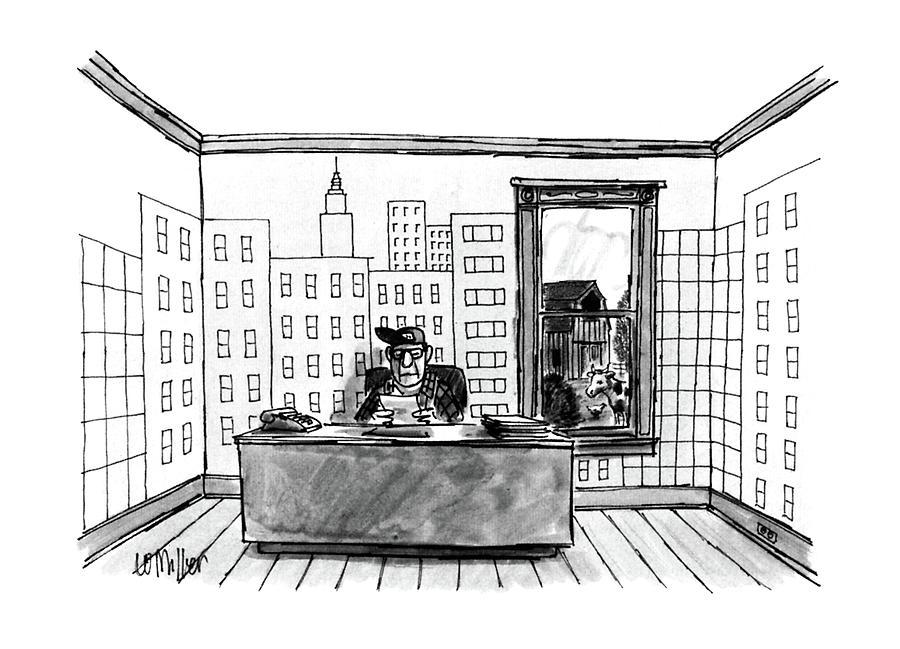 New Yorker July 4th, 1988 Drawing by Warren Miller