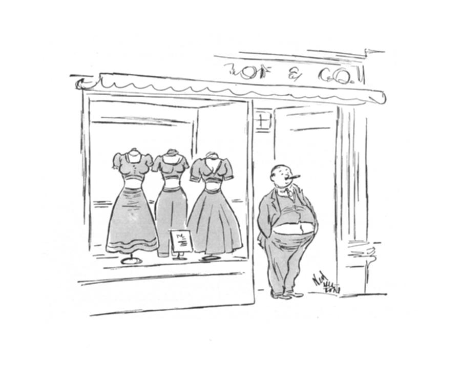New Yorker July 5th, 1941 Drawing by Ned Hilton