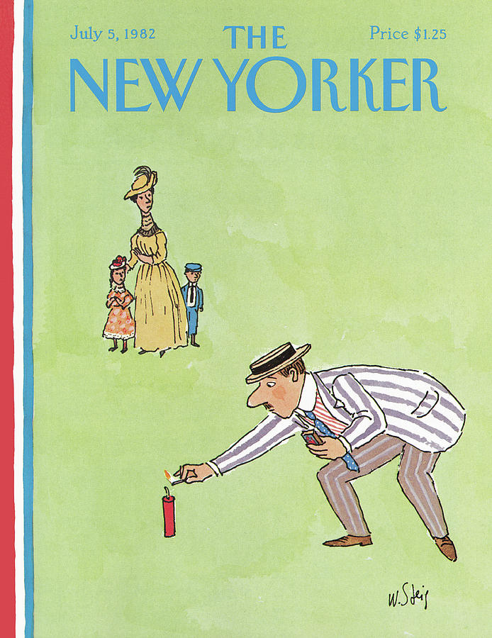 New Yorker July 5th, 1982 Painting by William Steig