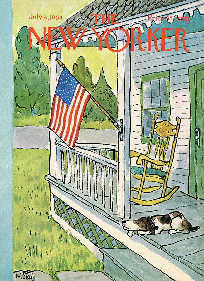 New Yorker July 6th, 1968 Painting by William Steig
