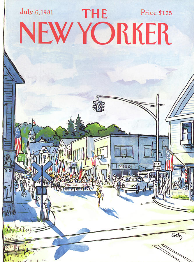 New Yorker July 6th, 1981 Painting by Arthur Getz