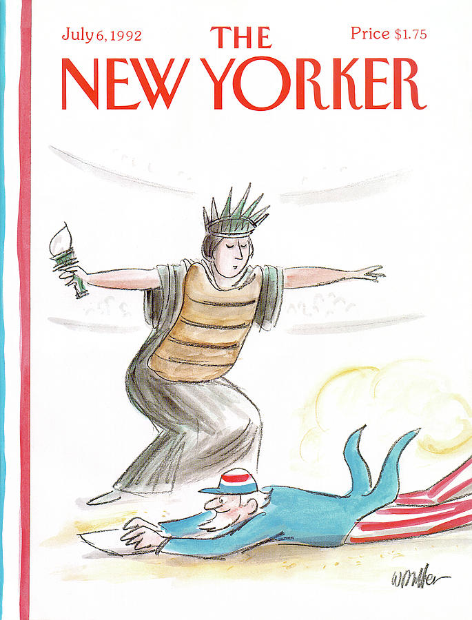 New Yorker July 6th, 1992 Painting by Warren Miller