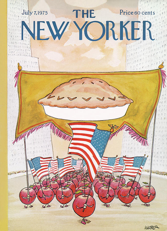 New Yorker July 7th, 1975 Painting by Robert Weber