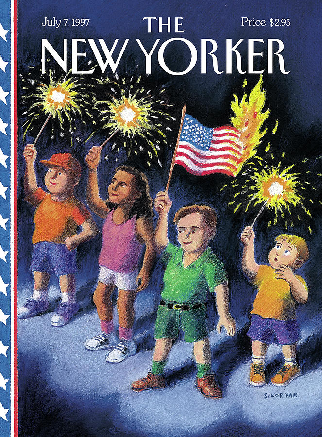 New Yorker July 7th, 1997 Painting by R Sikoryak