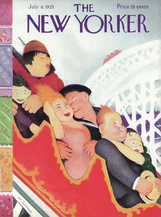 New Yorker July 8th, 1933 Painting by Will Cotton