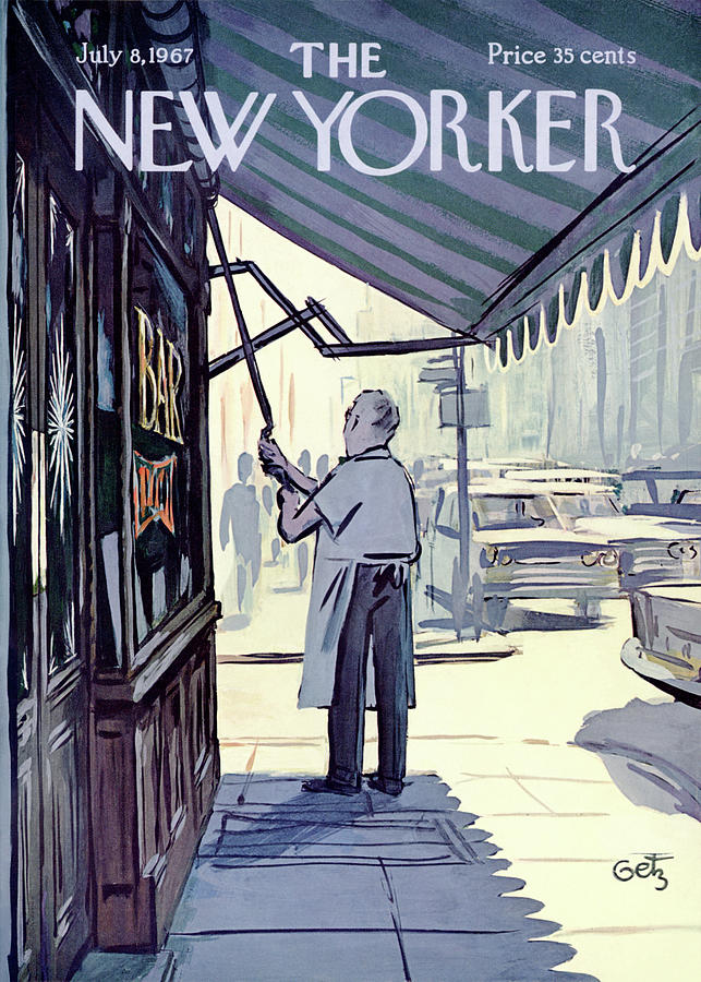 New Yorker July 8th, 1967 Painting by Arthur Getz