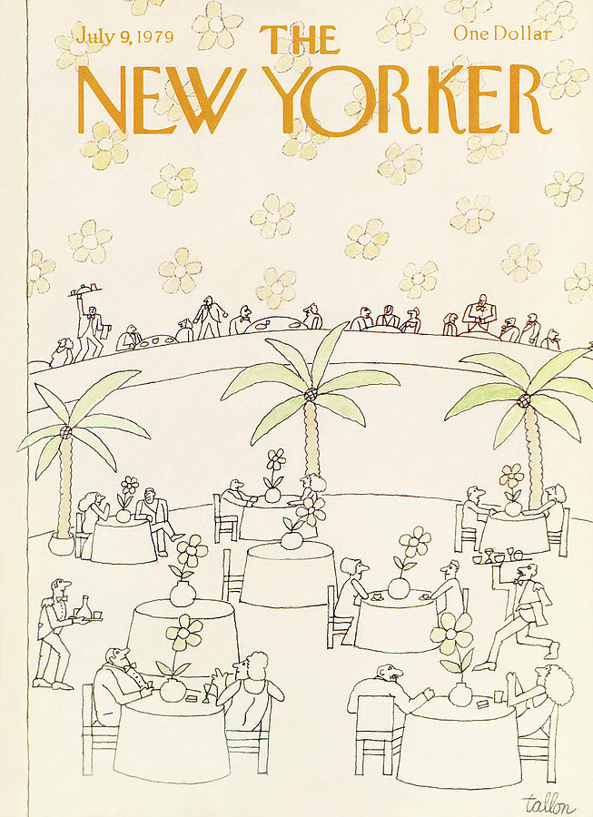 New Yorker July 9th, 1979 Painting by Robert Tallon