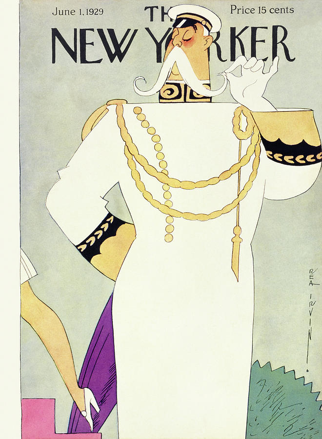 New Yorker June 1 1929 Painting by Rea Irvin