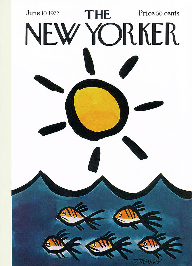 New Yorker June 10th, 1972 Painting by Donald Reilly