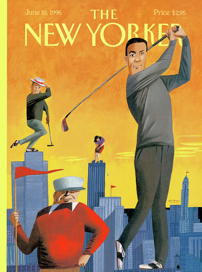 New Yorker June 10th, 1996 Painting by Mark Ulriksen