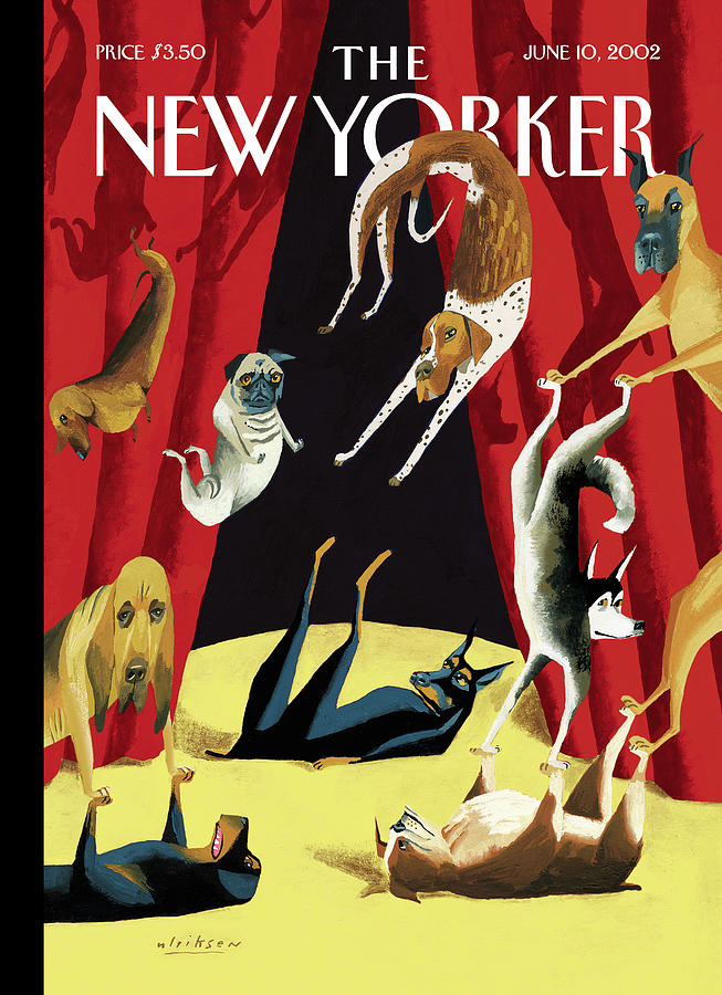 New Yorker June 10th, 2002 Painting by Mark Ulriksen