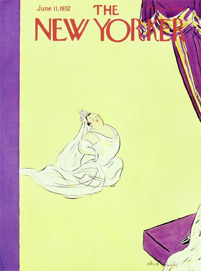 New Yorker June 11 1932 Painting by Helene E Hokinson