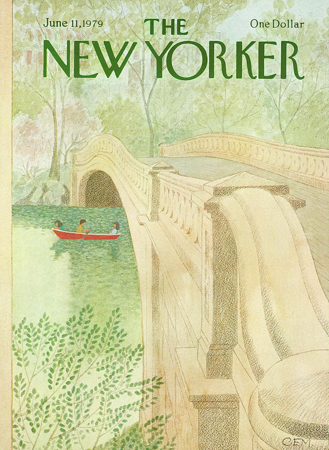 New Yorker June 11th, 1979 Painting by Charles E Martin
