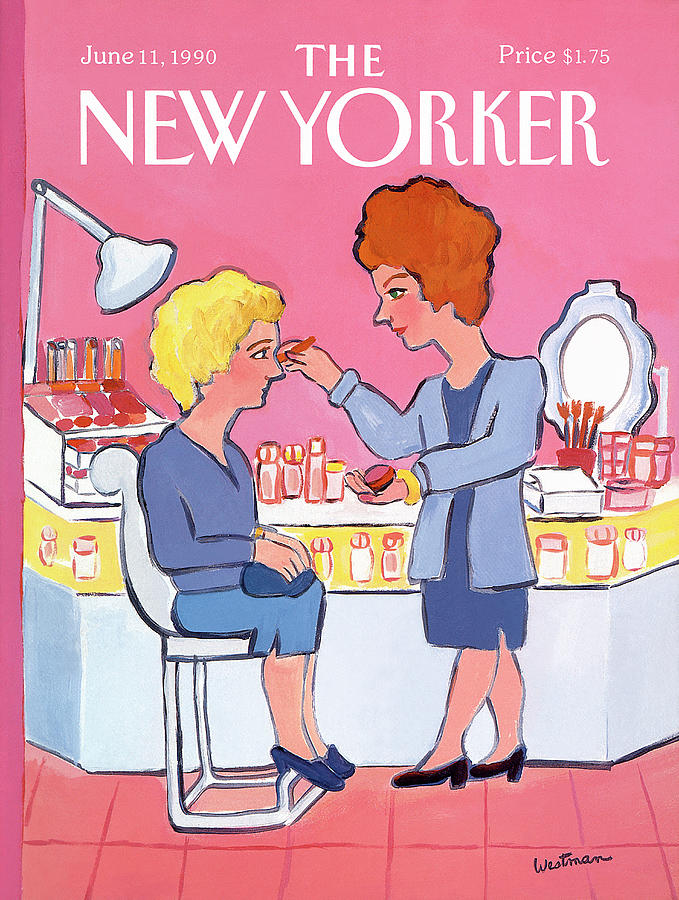 New Yorker June 11th, 1990 Painting by Barbara Westman