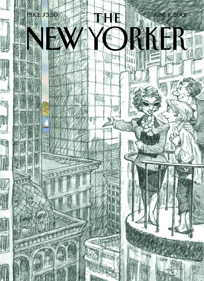 New Yorker June 11th, 2001 Painting by Peter de Seve