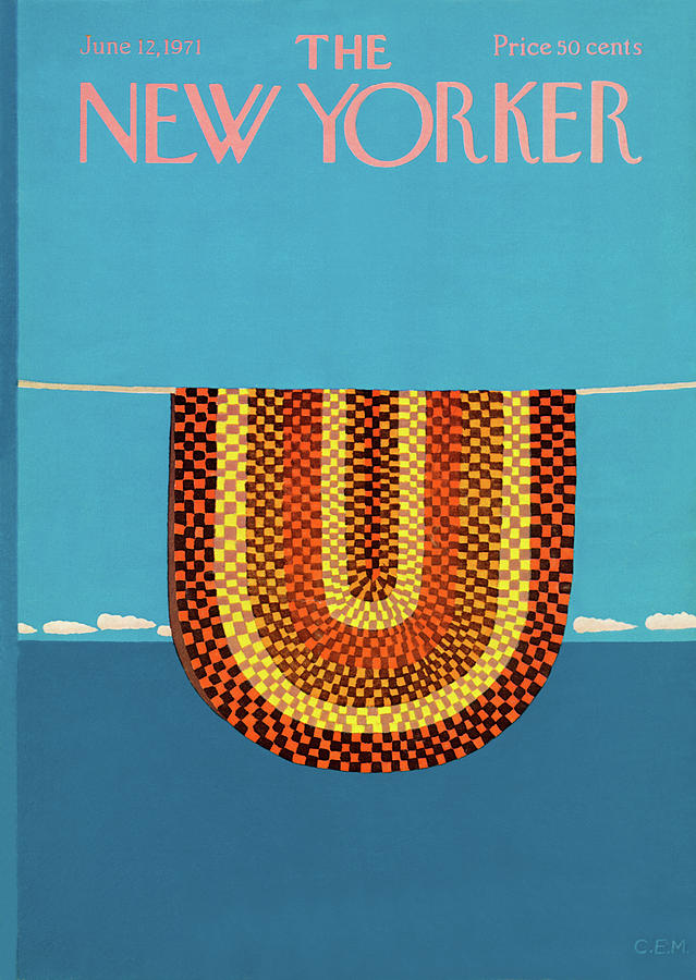 New Yorker June 12th, 1971 Painting by Charles E Martin