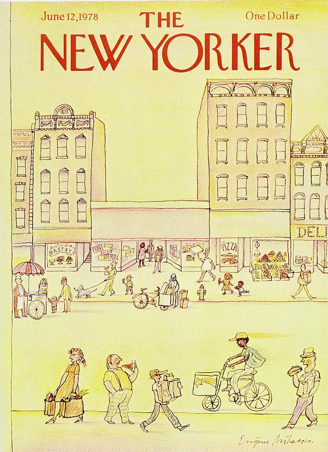 New Yorker June 12th 1978 Painting by Eugene Mihaesco
