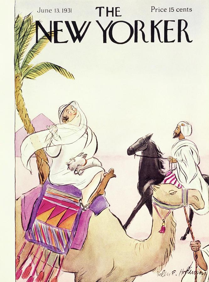 New Yorker June 13 1931 Painting by Helene E. Hokinson