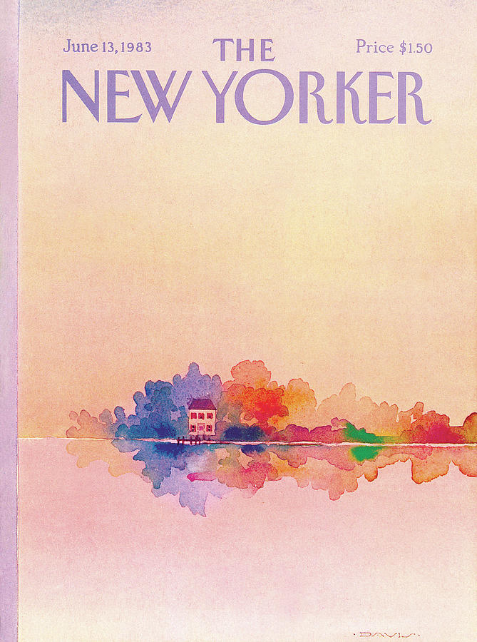 New Yorker June 13th, 1983 Painting by Susan Davis