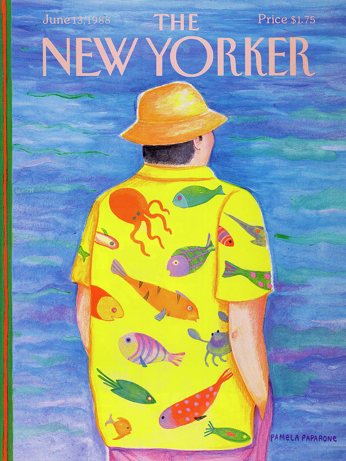New Yorker June 13th, 1988 Painting by Pamela Paparone