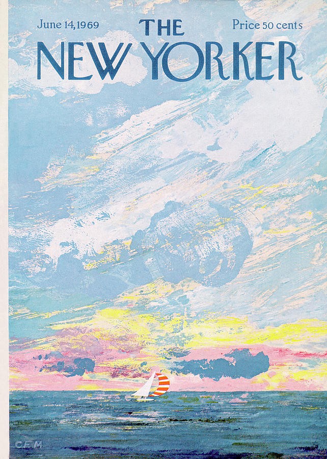 New Yorker June 14th, 1969 Painting by Charles E Martin