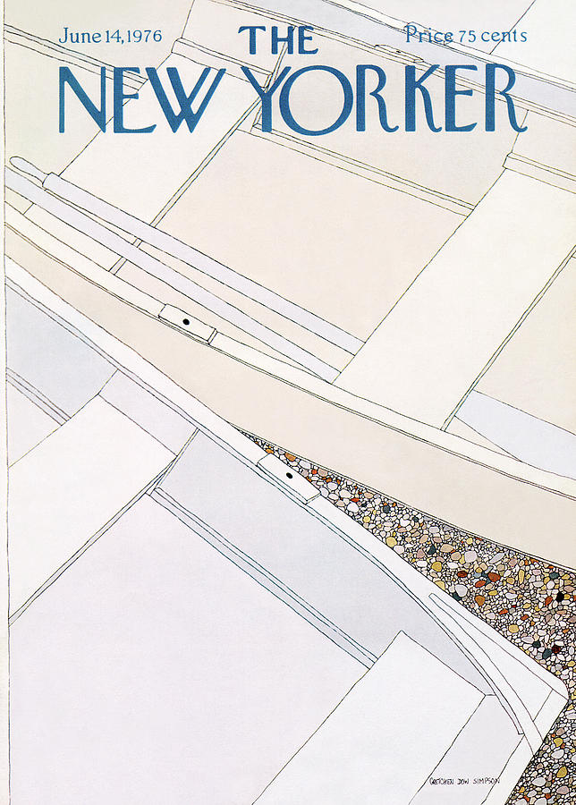 New Yorker June 14th, 1976 Painting by Gretchen Dow Simpson