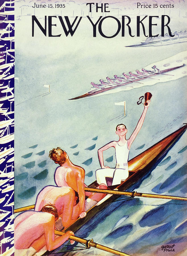 New Yorker June 15 1935 Painting by Garrett Price