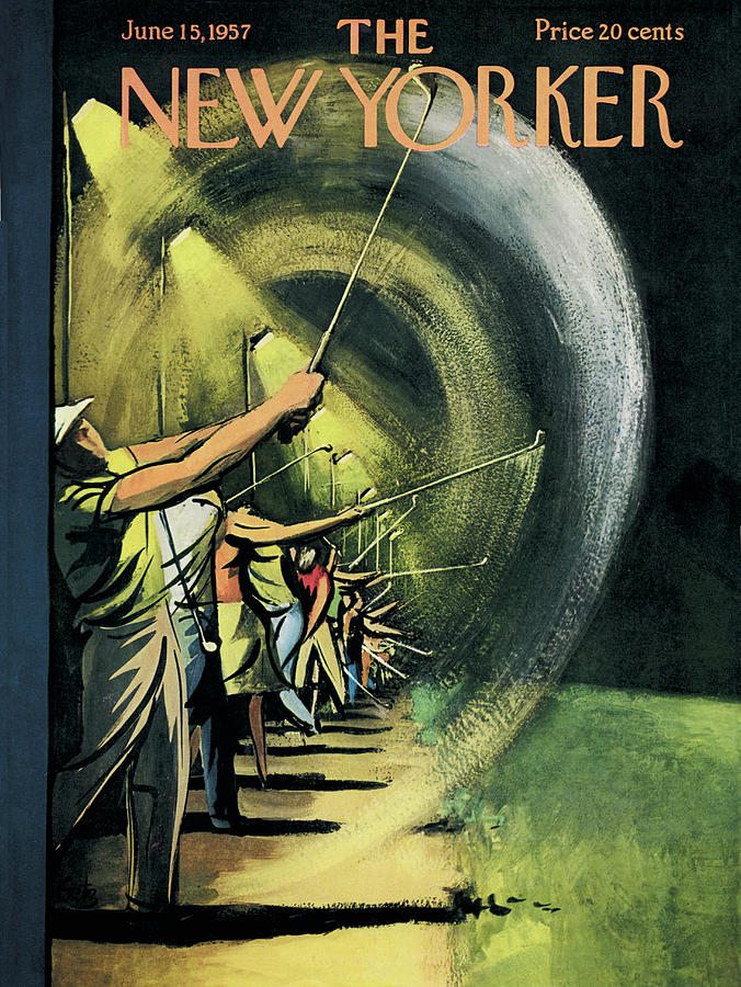 New Yorker June 15th, 1957 Painting by Arthur Getz