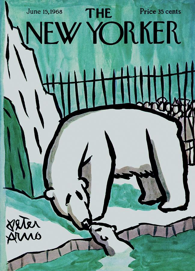 New Yorker June 15th, 1968 Painting by Peter Arno