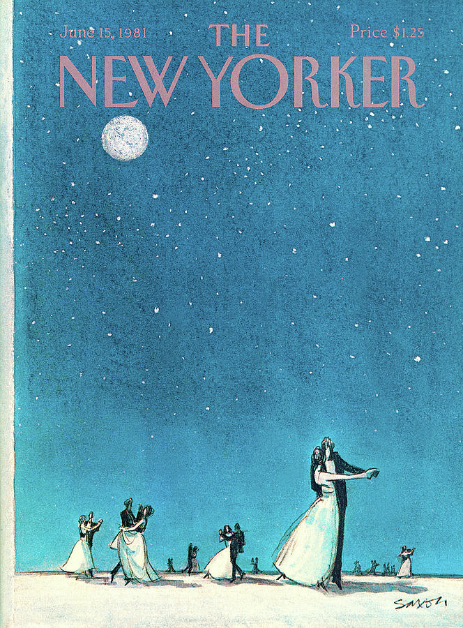 New Yorker June 15th, 1981 Painting by Charles Saxon