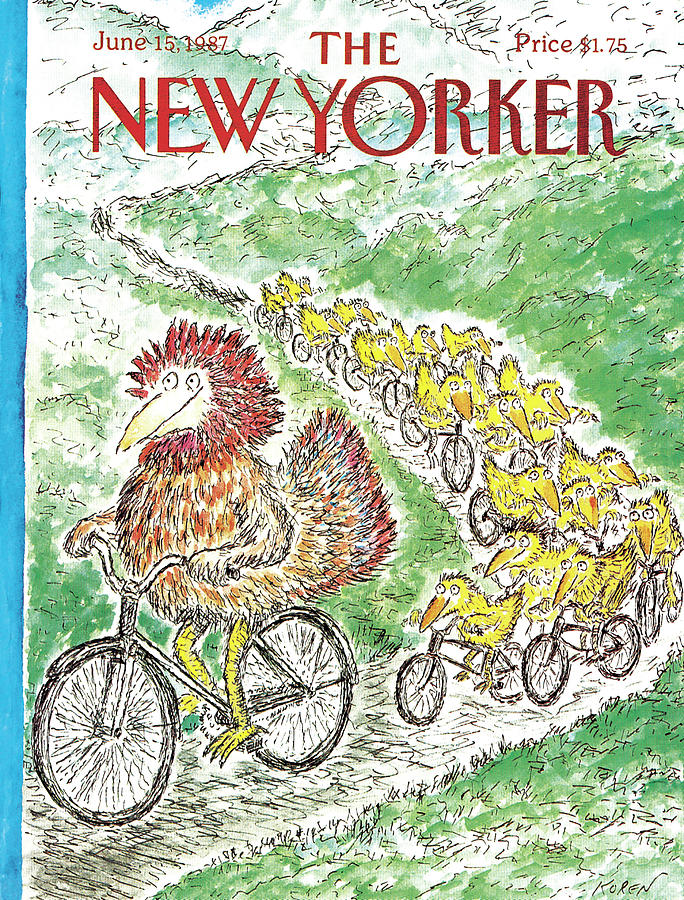 New Yorker June 15th, 1987 Painting by Edward Koren