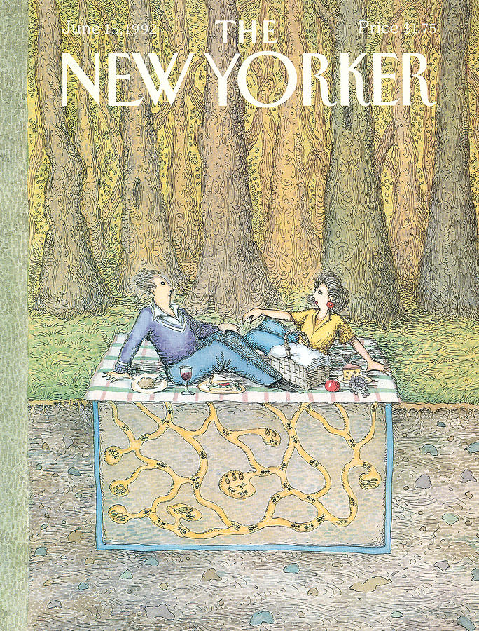 New Yorker June 15th, 1992 Painting by John OBrien