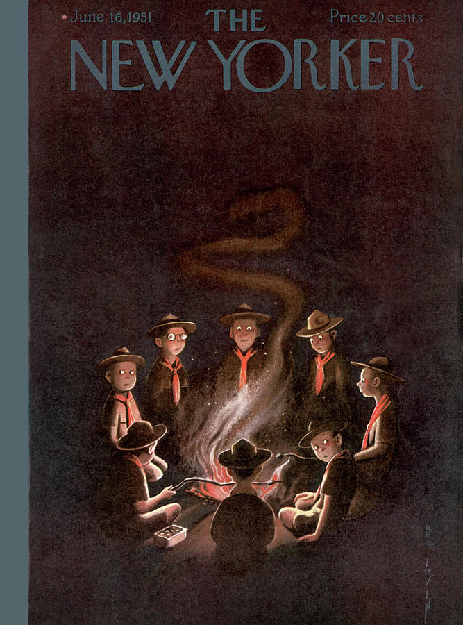 New Yorker June 16th, 1951 Painting by Rea Irvin