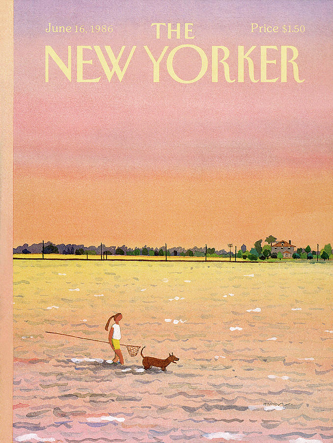 New Yorker June 16th, 1986 Painting by Susan Davis