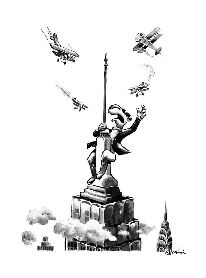 New Yorker June 16th, 1997 Drawing by Eldon Dedini