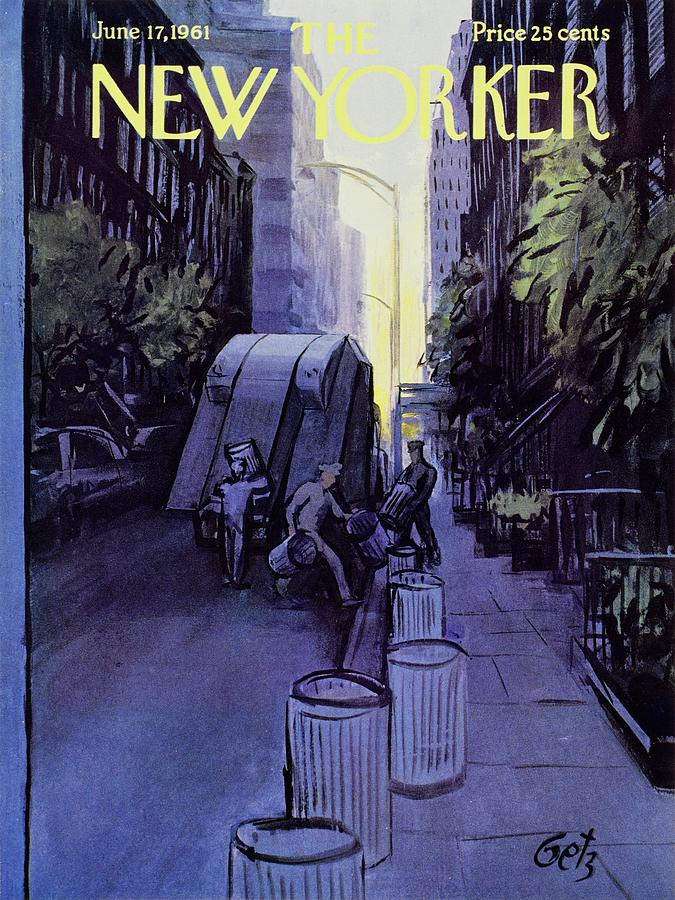 New Yorker June 17th 1961 Painting by Arthur Getz