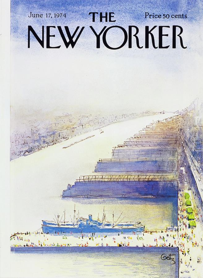 New Yorker June 17th 1974 Painting by Arthur Getz