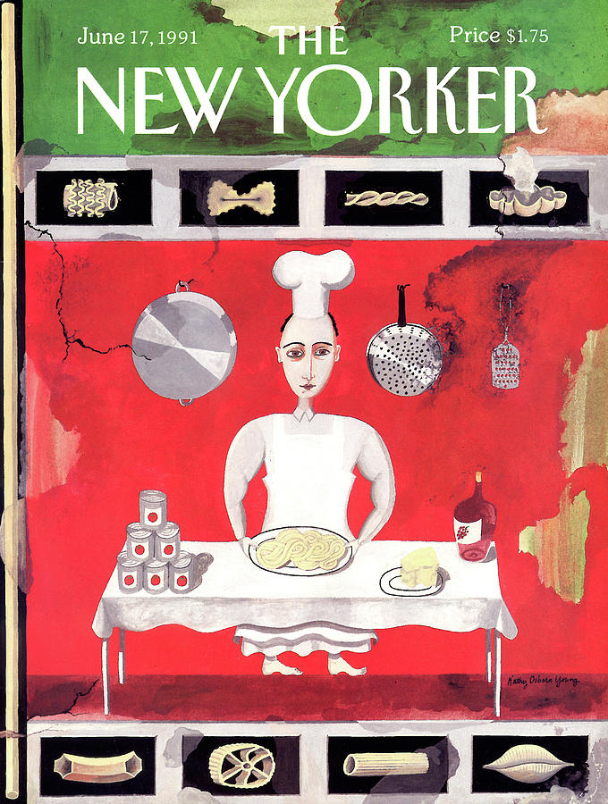 New Yorker June 17th, 1991 Painting by Kathy Osborn