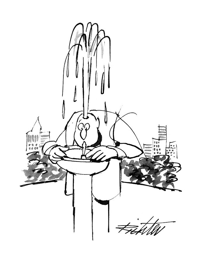 New Yorker June 17th, 1996 Drawing by Mischa Richter