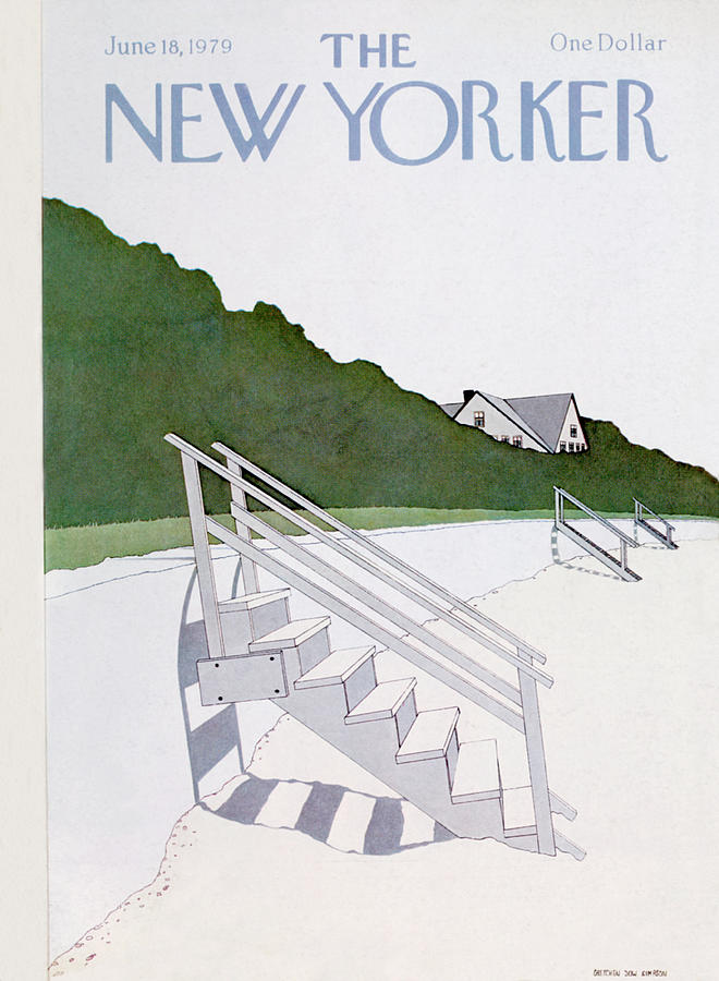 New Yorker June 18th, 1979 Painting by Gretchen Dow Simpson