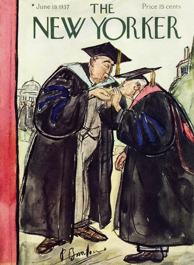 New Yorker June 19 1937 Painting by Perry Barlow