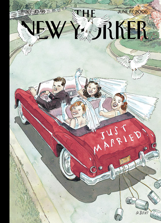 New Yorker June 19th, 2006 Painting by Barry Blitt