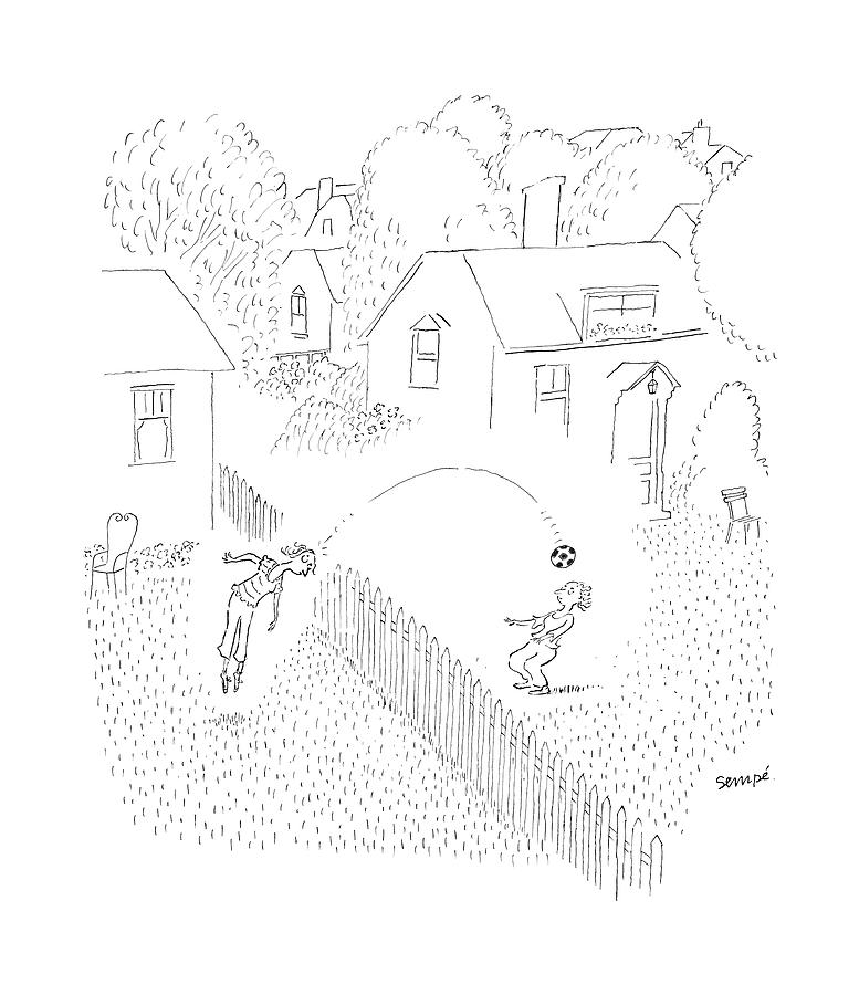 New Yorker June 19th, 2006 Drawing by Jean-Jacques Sempe
