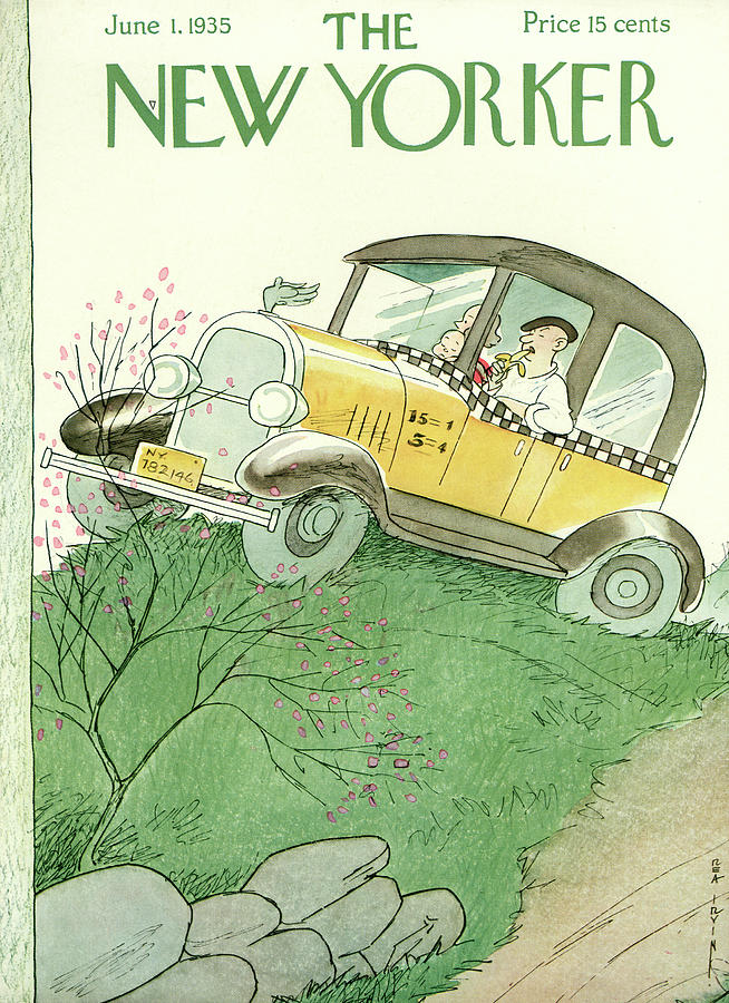 New Yorker June 1, 1935 Painting by Rea Irvin