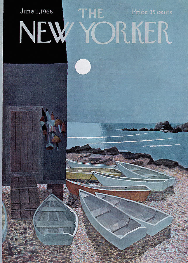 New Yorker June 1st, 1968 Painting by Charles E Martin
