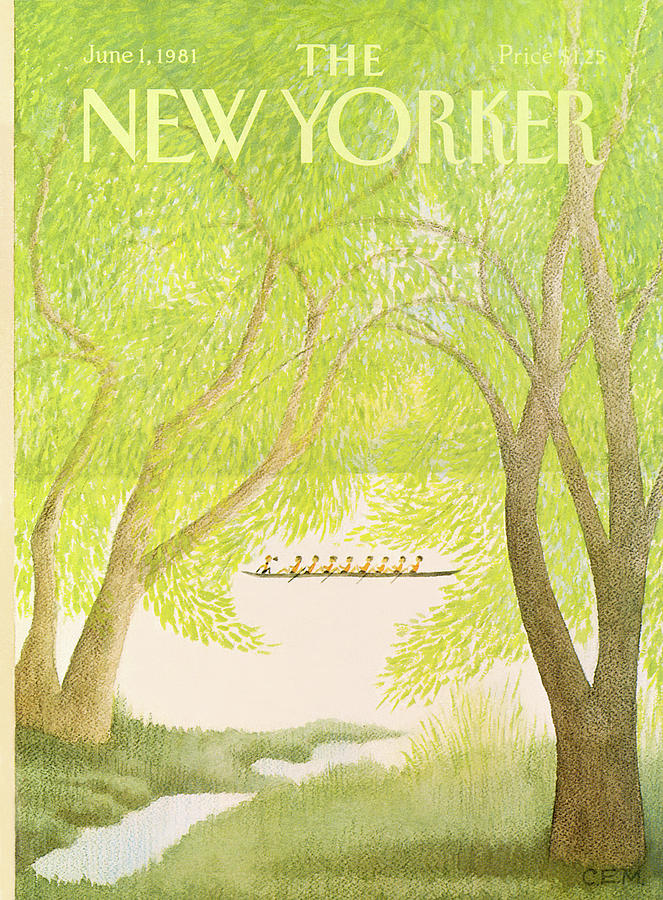 New Yorker June 1st, 1981 Painting by Charles E Martin