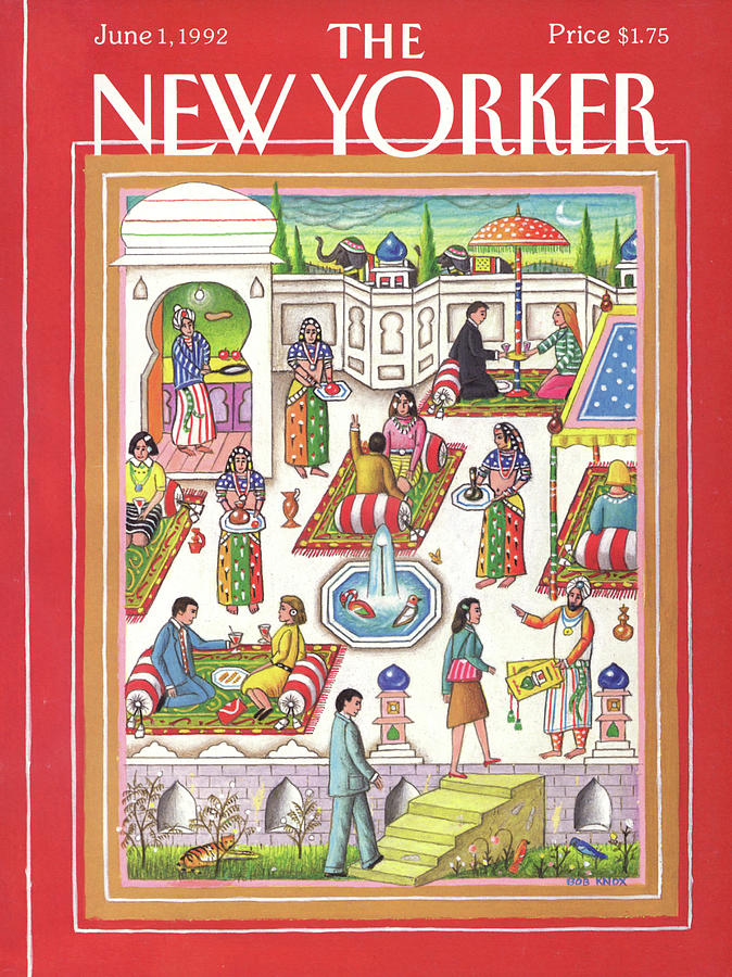 New Yorker June 1st, 1992 Painting by Bob Knox