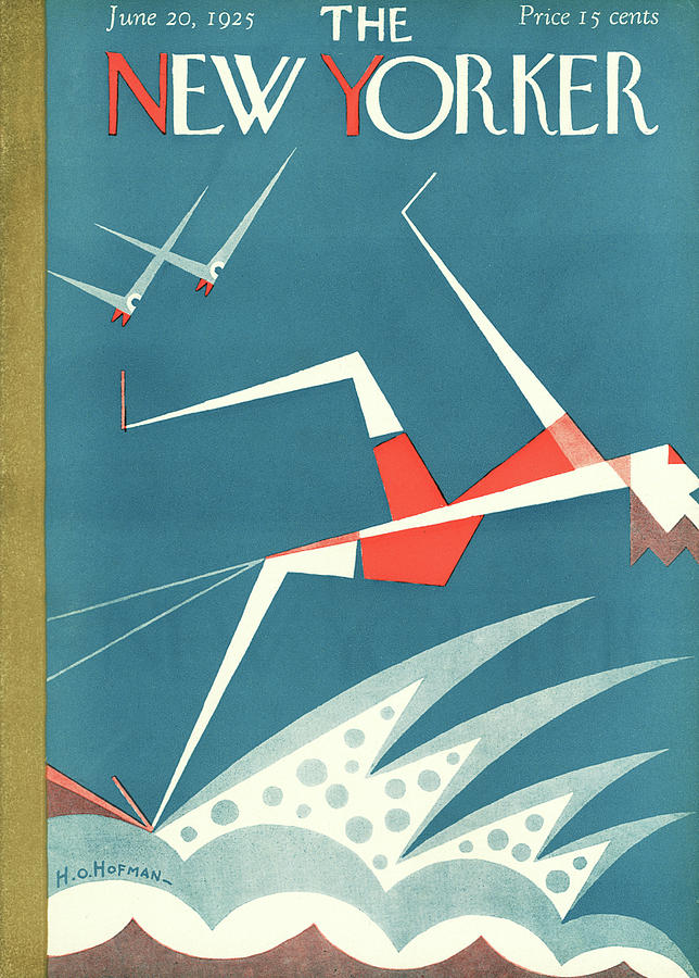 New Yorker June 20th, 1925 Painting by HO Hofman
