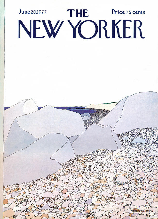New Yorker June 20th, 1977 Painting by Gretchen Dow Simpson