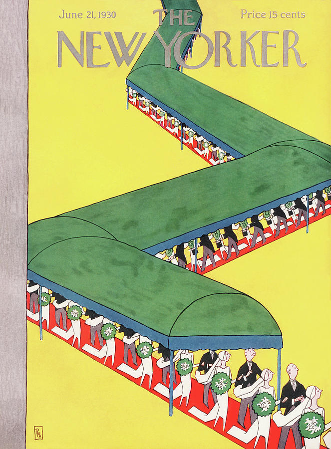 New Yorker June 21st, 1930 Painting by Gardner Rea